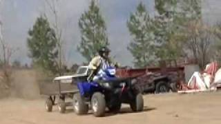 2. 2007 Polaris Sportsman 800 X2 Test - ATVTV Test videos
