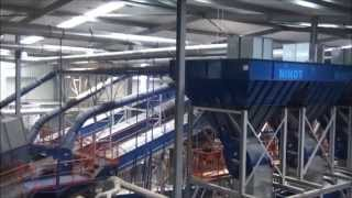 Nihot recycling 2xSDS and 3xWS in sorting plant