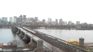 Full Day Time-Lapse Over Longfellow Bridge - Nov 26, 2014