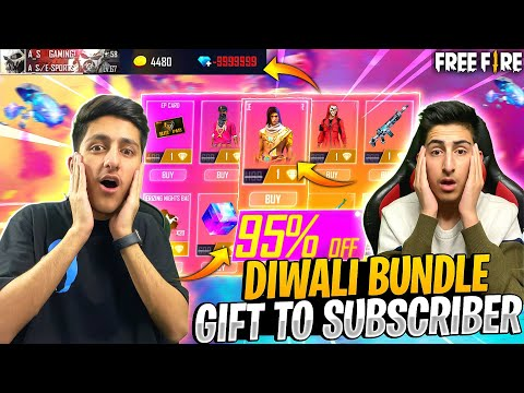 Diwali Level Up Shop In Subscriber Id 95% Off 😍10,000 Diamond Top Up - Garena Free Fire