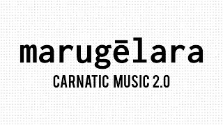 Marugelara - Carnatic Music FusionMarugelara is a Carnatic Composition, written by Tyagaraja (1767-1847) in the Raagam Jayantashree. Here it is fused with the genre of Drum and Bass. This musical fusion is an attempt to present Carnatic Music in a contemporary fashion, that would be appealing to young and modern audiences.ANNOUNCEMENT! All my music in the Carnatic Music 2.0 series is now available on iTunes, Bandcamp, Google Play, Amazon and Spotify.Get it on iTunes - http://itunes.apple.com/album/id10870...Get it on Amazon - https://amzn.com/B01C4S64QOGet it on Bandcamp - https://mahesh-raghvan.bandcamp.com/r...Get it on Google Play (Coming Soon)Social Media Links:Mahesh Raghvan: Facebook - https://facebook.com/followingmaheshTwitter - https://twitter.com/followingmaheshCredits:Everything: Mahesh RaghvanSupported by: iShrutiBox (Electronic Tanpura for iOS Devices)Digital Partner: Silly MonksSpecial thanks to karnatik.com and lyrical-thyagaraja.blogspot.com for the translationsFAQ:A - What is FLAIR?— FLAIR is a YouTube project that aims at creating short pieces of electronic music based on Indian Classical melodies. The objective of this project is to provide a fresh new take on Carnatic music by mixing it with elements of Electronic Dance Music. B - How did you produce the video?— The video was produced partly on Processing and partly on After Effects.C - What else do you do?— I make music, music software, videos, artwork, websites, applications and lots more. Visit www.maheshraghvan.com to check out my work.D - I'm a professional musician/singer/visual artist. I want to collaborate!— Amazing! Me too! Get in touch. I look forward to working with you.