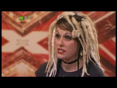 Scary women in X Factor