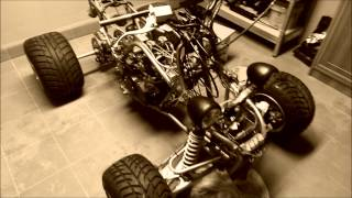 8. Yamaha Banshee rebuild and tuning part 1 *Germany* *Deutschland* *todesfee*