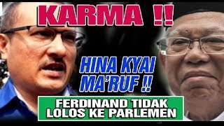 Video KAPOK..FERDINAN KENA KARMA ..MENGHINA KYAI MA'RUF FERDINAN GAGAL KE SENAYAN MP3, 3GP, MP4, WEBM, AVI, FLV April 2019