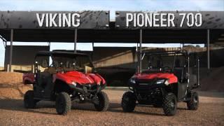 5. 2014 Yamaha Viking vs Honda Pioneer