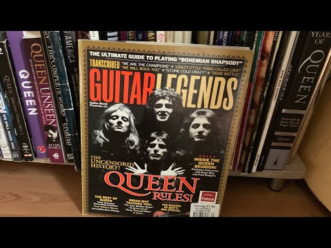 Queen Guitar Legends Magazine pdf