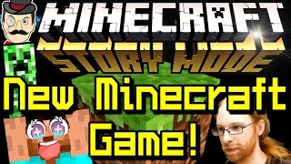 Minecraft News MINECRAFT STORY MODE - New Game Announced!