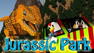 "Minecraft Dinosaurs | Jurassic Craft Modded Survival Ep 40! ""DINOSAURS GETTING ABUSED"""