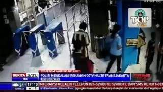 Video Pelaku Pengeboman Terekam Kamera CCTV Halte Transjakarta MP3, 3GP, MP4, WEBM, AVI, FLV September 2018
