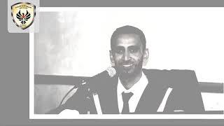 مناقشة رسالة ماجستير الباحث: حافظ الخضري