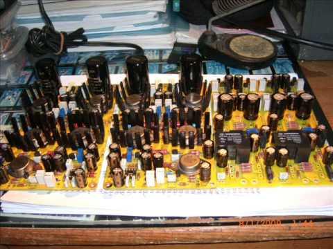 DIY ST6 Single-end DC Pure Class A Power Amplifier