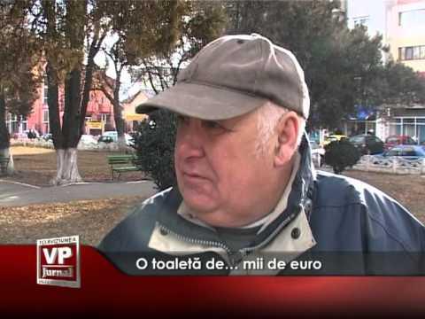 O toaletă de… mii de euro