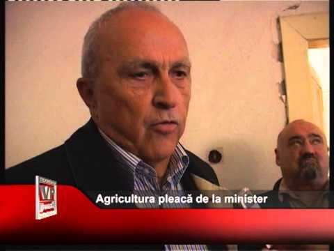 Agricultura pleacă de la minister