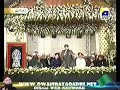Mehfil e Milad -LIVE FROM LAHORE ON GEOTV--12 Rabil ul Awal 2012