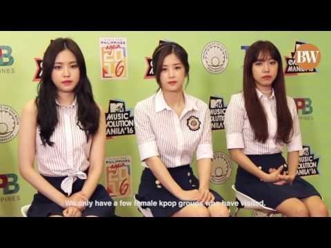 BusinessWorld interview with Apink