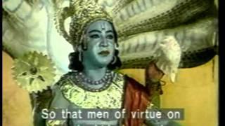A Baby God - Ram (avatar Of The God Vishnu) From Ramayana Episode 1.mpeg