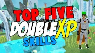 Runescape 2016  Top 5 skills to train on Double XP Weekend