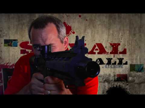 U.S. Army Project Salvo by Tippmann Paintball Gun Review and Testing in HD