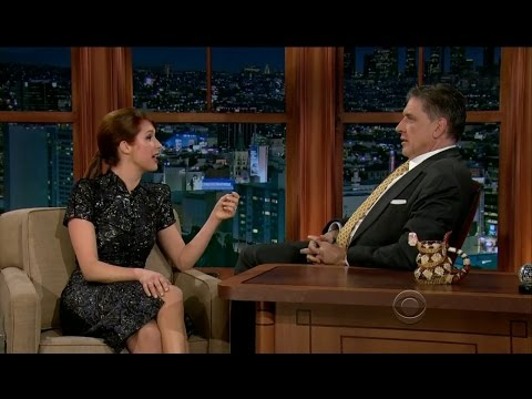 Late Late Show with Craig Ferguson 1/30/2013 Dominic Monaghan, Ellie Kemper
