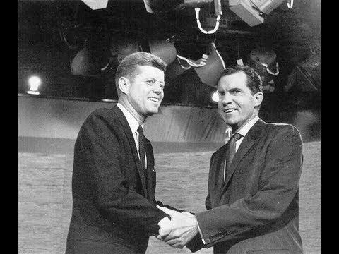 The First Kennedy-Nixon Debate of 1960