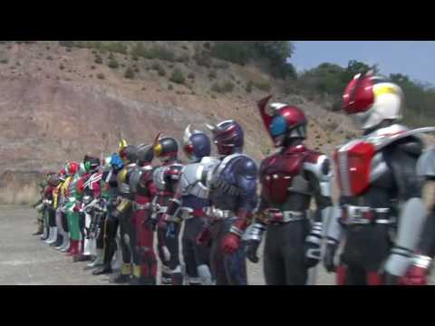 Kamen Rider Decade Movie Trailer