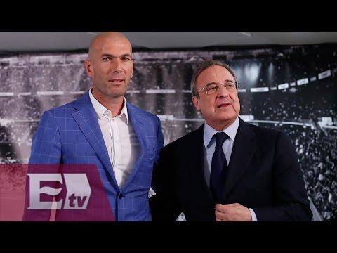 Inicia la era de Zinedine Zidane al frente del Real Madrid