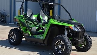 4. $11,999:  2014 Wildcat Trail XT Team Arctic Green  Overview and Review