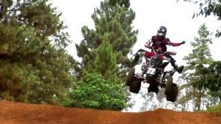 9. Raptor 700 GOES HUGE -  ATV Jumps