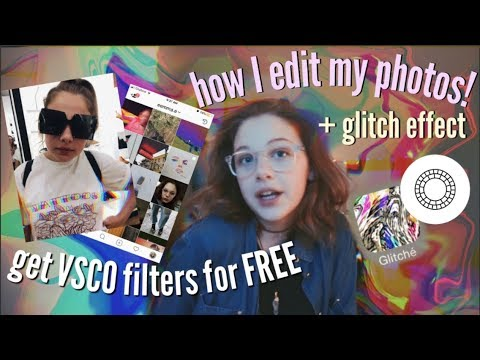 get VSCO X filters for FREE! How I Edit my Photos | emma e.
