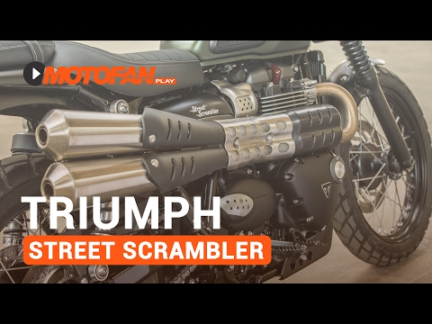 Vídeos Triumph Street Scrambler
