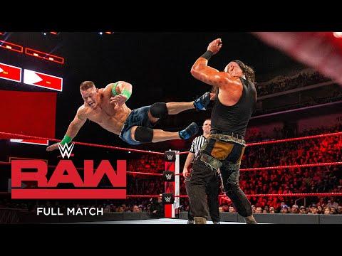 FULL MATCH - John Cena vs. Braun Strowman vs. Elias - Triple Threat Match: Raw, Feb. 5, 2018