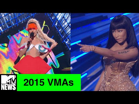 UNCENSORED: Miley Cyrus Reacts to Nicki Minaj Calling Her Out at the 2015 VMAs | MTV News
