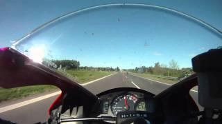 8. cbr600rr 08 top speed