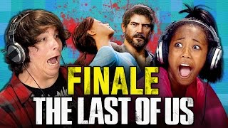 THE LAST OF US: FINALE (Teens React: Gaming)