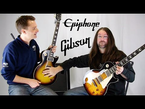 Gibson - Guitar Gibson Epiphone Rob Chapman Facebook: http://www.facebook.com/officialrobchapman Rob Chapman's band Dorje: http://www.youtube.com/dorjeband For all en...