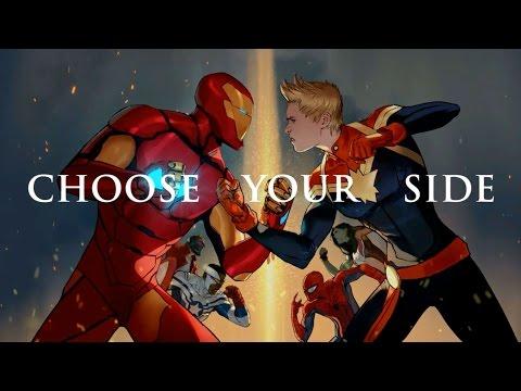 漫威宇宙第二次《英雄內戰》即將開打!