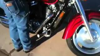 7. 2004 Honda shadow sabre 1100