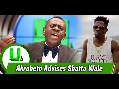 Akrobeto Advises Shatta Wale