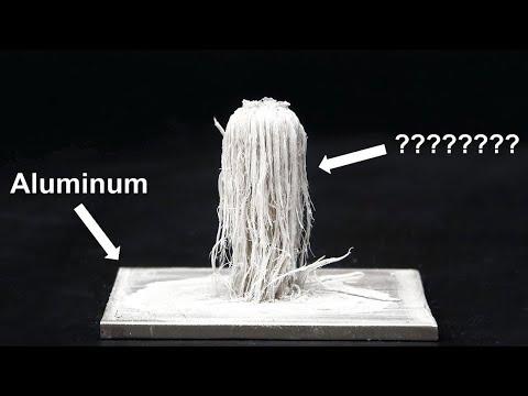 Aluminum and Mercury Amalgam Reaction
