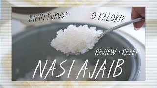 Video NASI BUAT DIET!! SHIRATAKI RICE REVIEW + RESEP MP3, 3GP, MP4, WEBM, AVI, FLV Januari 2019