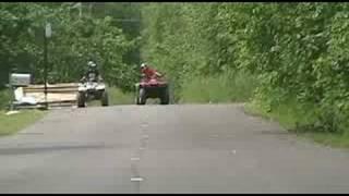9. Honda Rancher 350 vs. Polaris Trail Boss 250