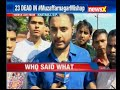 NewsX brings you Live visuals from the site of Muzaffarnagar mishap - Video