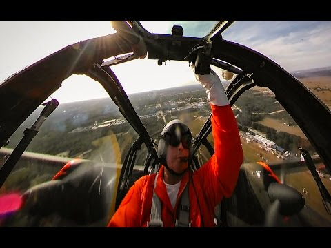 360° view from the cockpit of the...