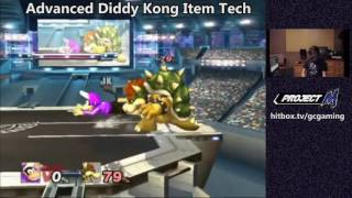Advanced Diddy Kong Item Tech