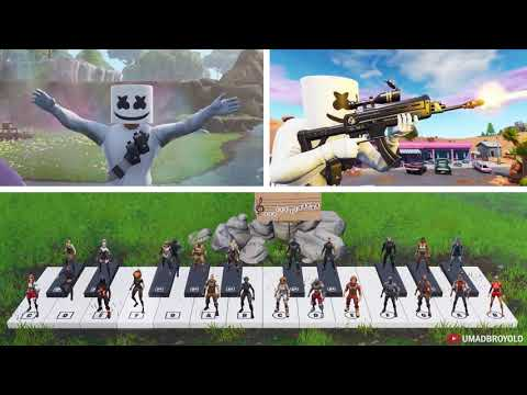 24 Players Play Happier On A Piano In Fortnite - Thời lượng: 3 phút, 3 giây.