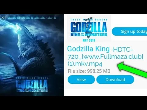 how to download godzilla king of the monsters in hindi