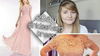 After purchasing a dissapointing bridesmaid dress from the Asos sale I decided to take a risk & purchase my bridesmaid dresses...