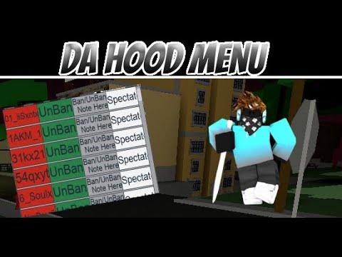 Draco mod menu in da hood (Visual Script) NOT PATCHED!
