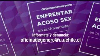 Universidad de Chile: 26% conoce algún caso de acoso sexual y el 15% lo ha vivido directamente