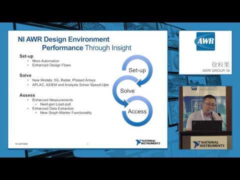 NI AWR Design Environment: Circuit Design Overview